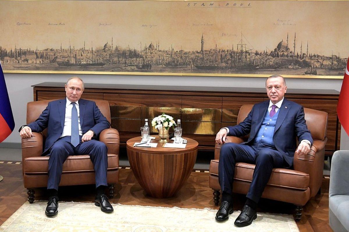 Libia Putin Erdogan