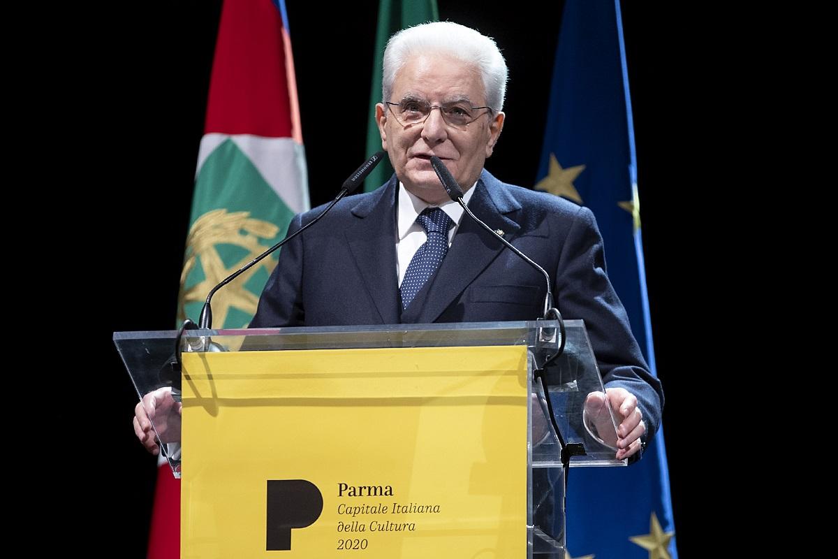 Sergio Mattarella Parma