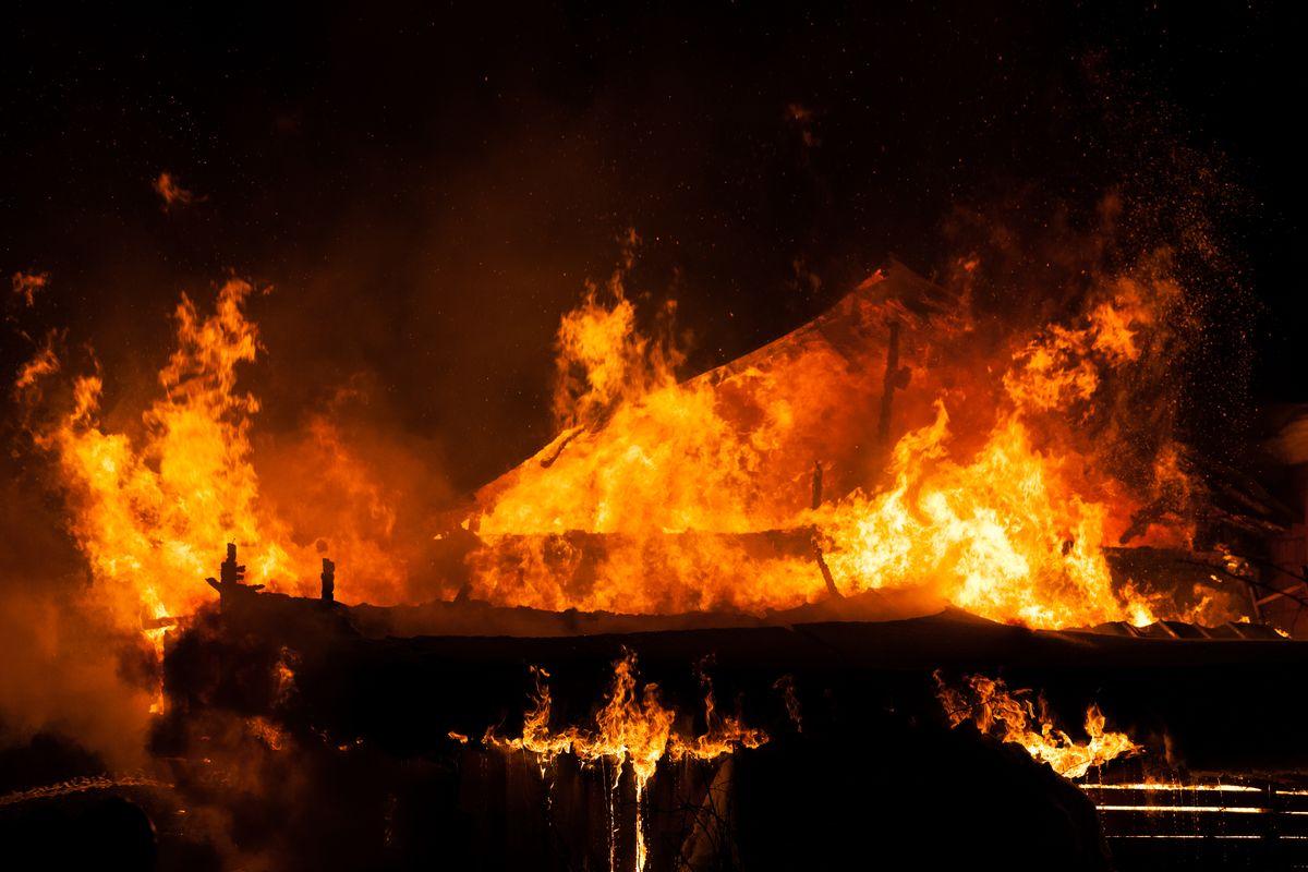 Incendio Vigili del fuoco