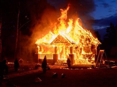 Incendio nel Beneventano, morta una donna di 49 anni
