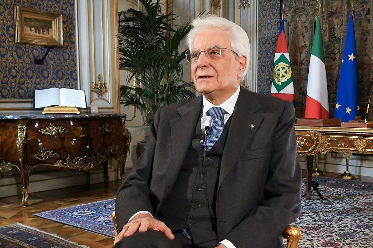 Sergio Mattarella Pasqua