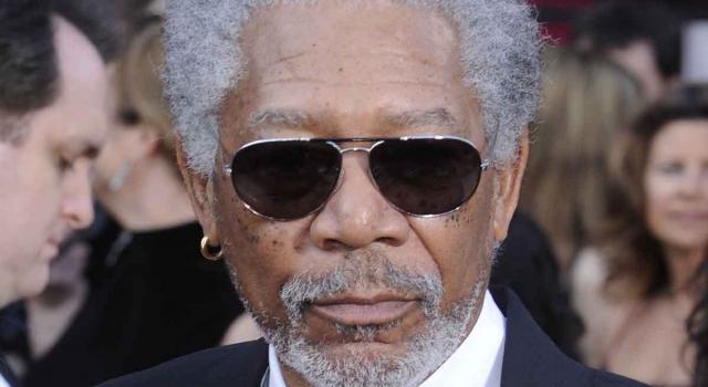Morgan Freeman, attore vincitore di un Oscar e del Golden Globe alla carriera