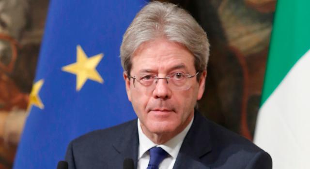 """Gentiloni: """"Possibile sospensione del patto di stabilità nel 2022"""""""