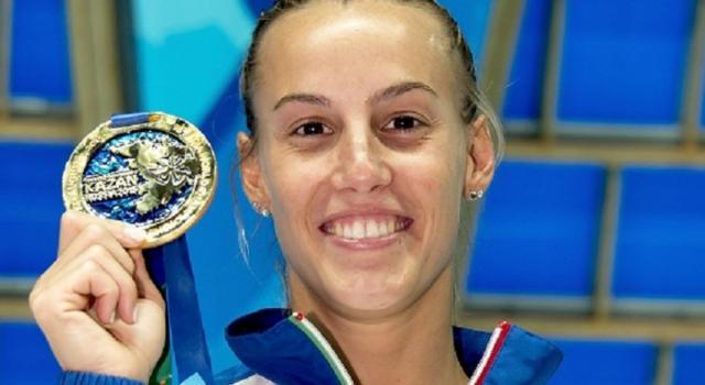 Auguri a Tania Cagnotto, l'ex tuffatrice vincitrice di due medaglie olimpiche