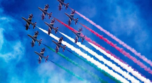 Frecce Tricolori a Verbania: spettacolo sul Lago Maggiore