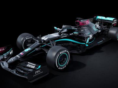 F1, la Mercedes 'cambia pelle'. Livrea nera contro il razzismo