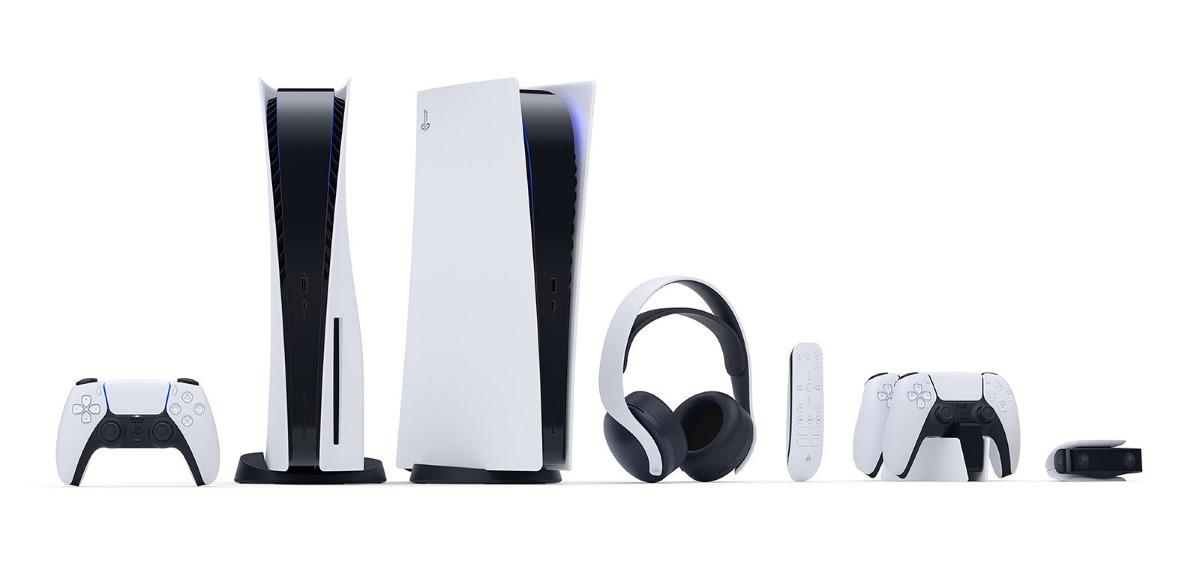 CS PS5 console accessori