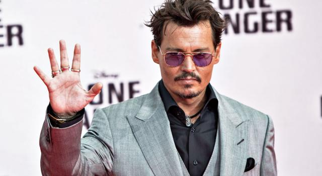 Johnny Depp, uno dei volti più noti di Hollywood