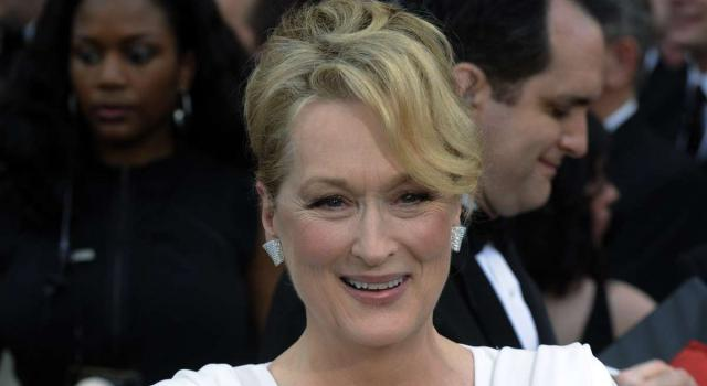Meryl Streep, l'attrice americana tre volte vincitrice del Premio Oscar