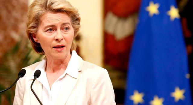 """Von der Leyen: """"In Italia servono riforme e investimenti"""""""