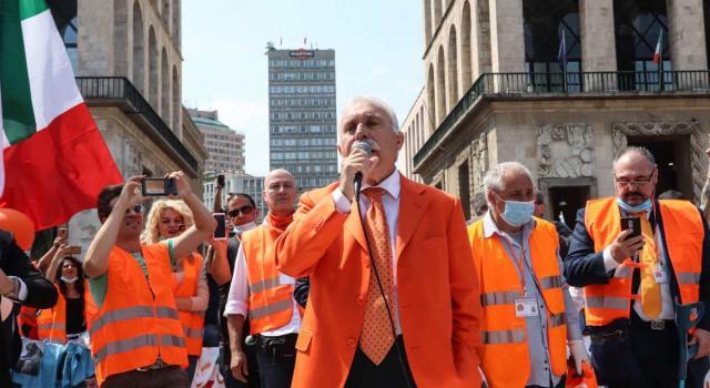 Antonio Pappalardo, chi è l'ex generale dei Carabinieri ora leader dei gilet arancioni
