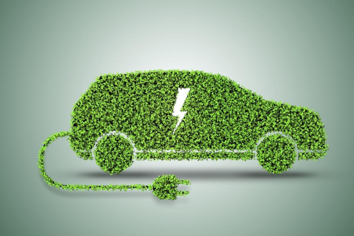 Targa verde auto elettriche
