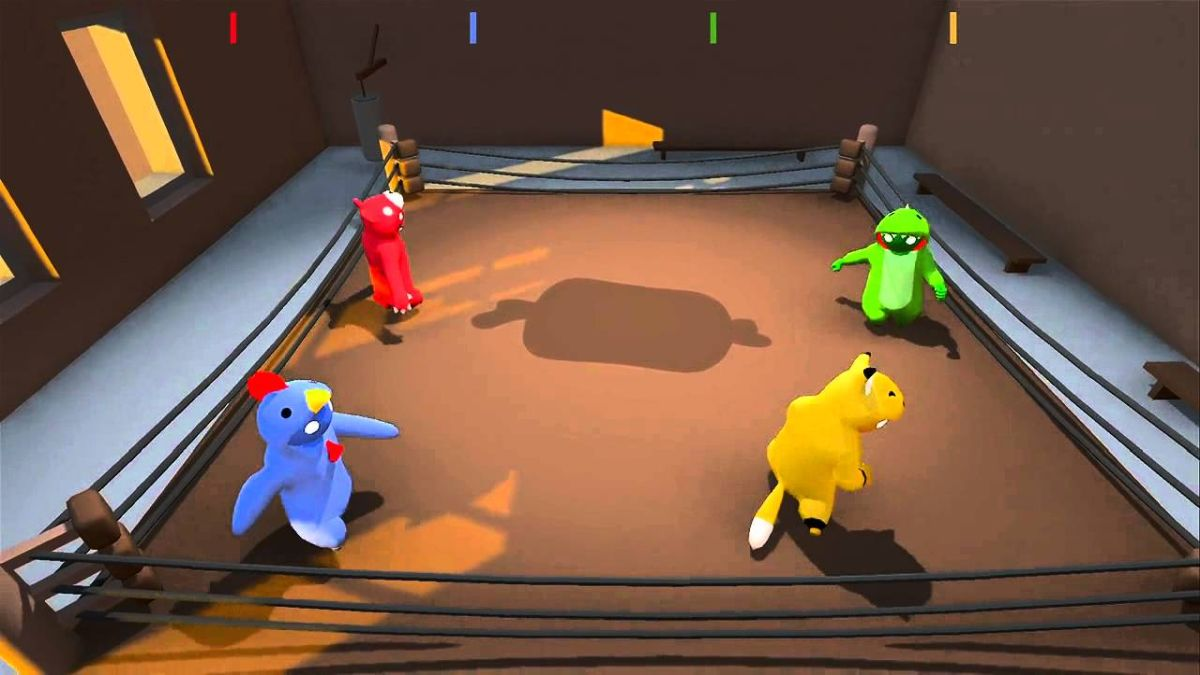 gang beasts party game
