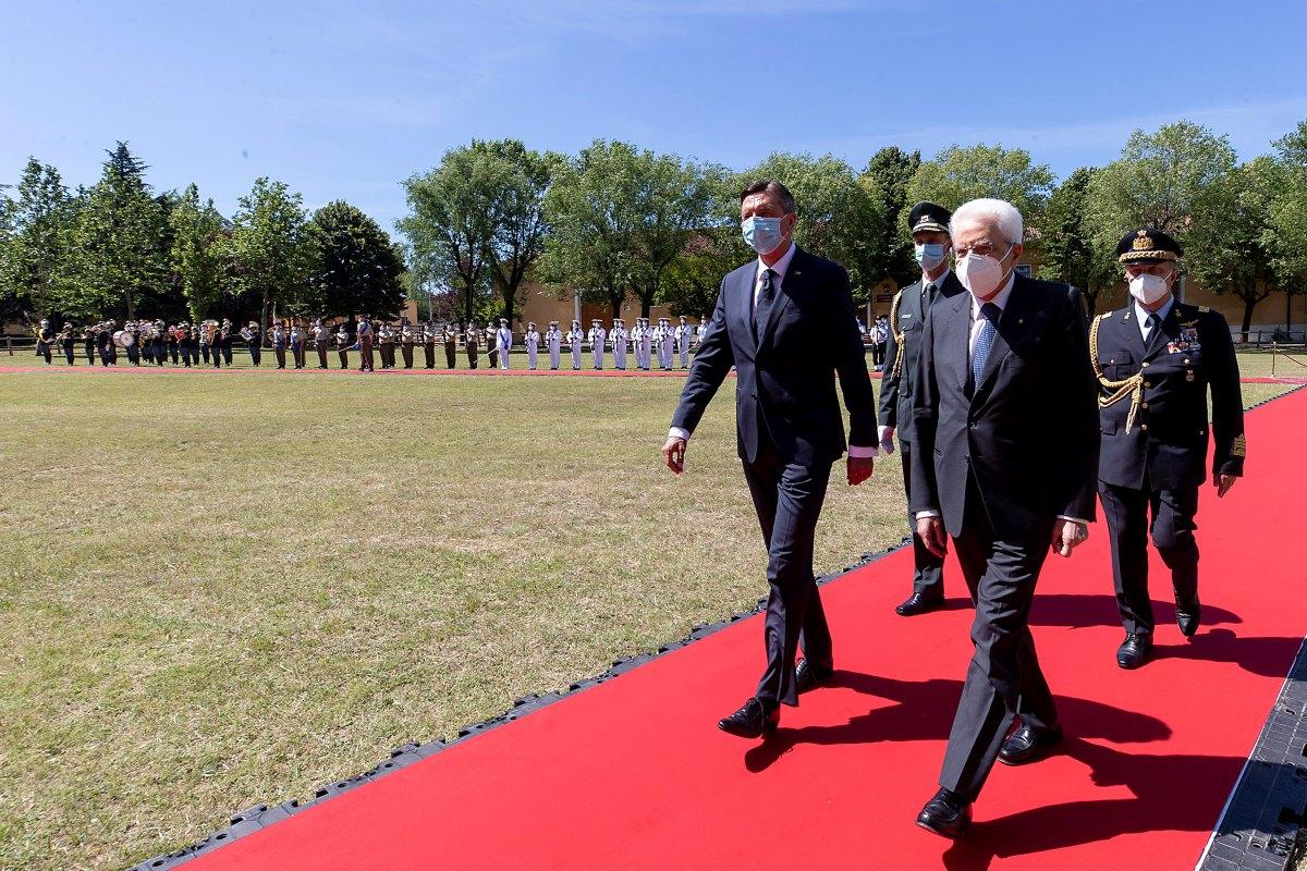Mattarella Borut Pahor