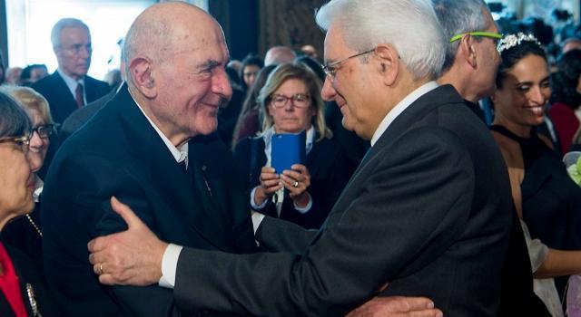 Il presidente Mattarella nomina Sami Modiano Cavaliere di Gran Croce