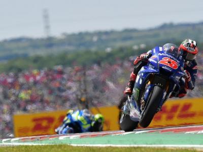 MotoGP, Vinales il più veloce nelle libere di Aragon