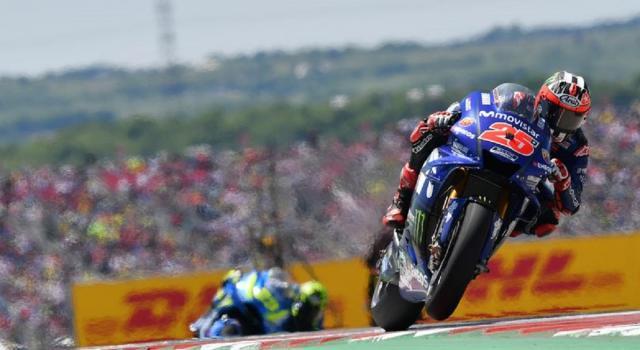 MotoGP, seconda pole position consecutiva per Vinales. Miller e Quartararo in prima fila