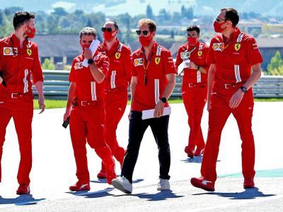Vettel, 'Ferrari complicata per me'. Binotto: 'Nessuna differenza tra le vetture'