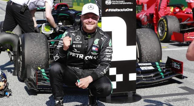 Formula 1, Bottas il più veloce nelle libere del Mugello