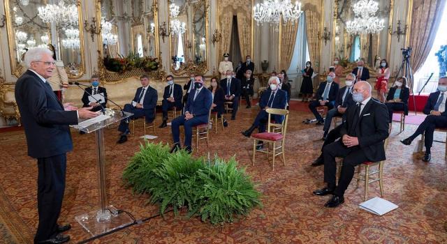"""Mattarella: """"Collaborazione Stato-Regione è il capo saldo dell'autonomia"""" (VIDEO)"""