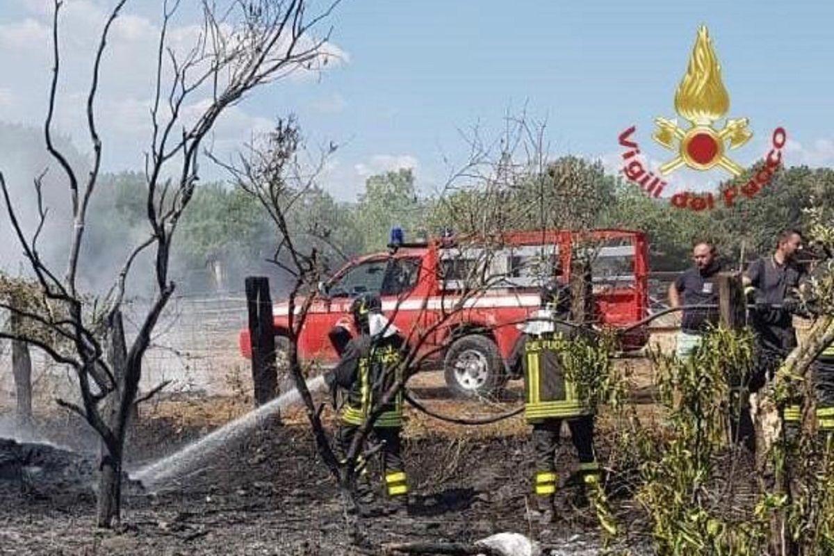 Vigili del fuoco Calabria