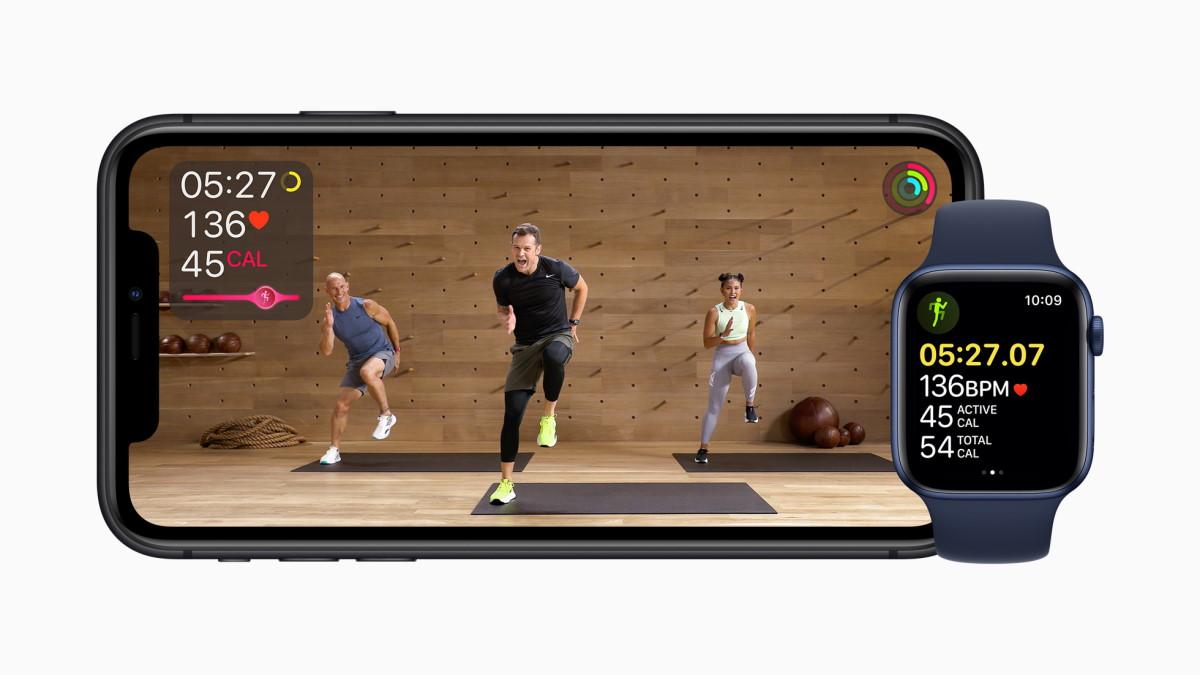 apple one apple fitness