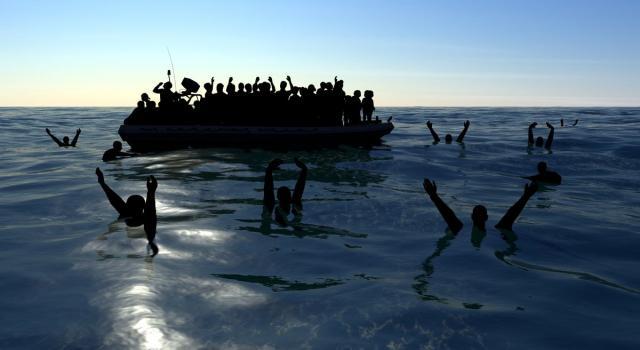 Migranti, nuovo naufragio nel Mediterraneo