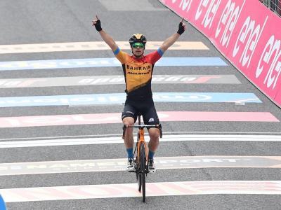 Giro d'Italia, successo di Jan Tratnik a San Daniele del Friuli. Joao Almeida resta in Rosa