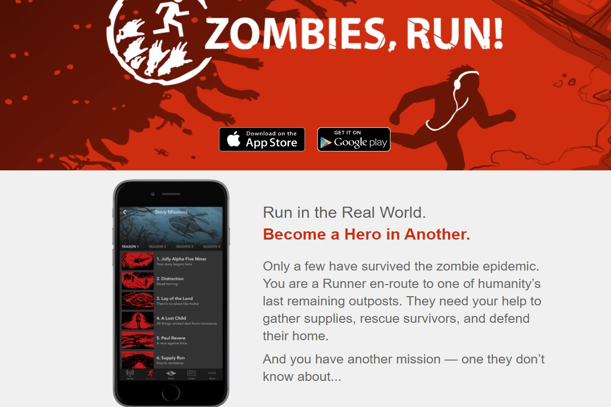app per halloween zombies run