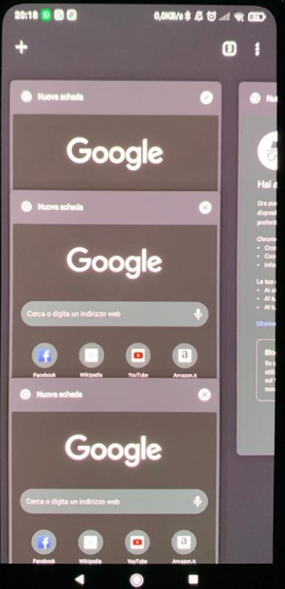 Modalita incognito chrome Android