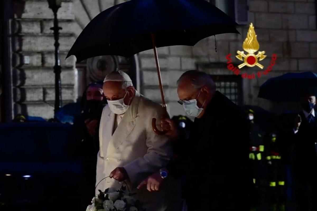 Papa Francesco Immacolata