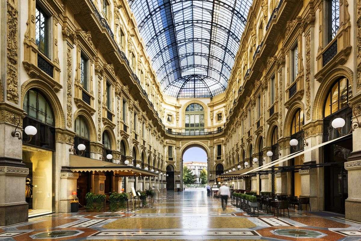 Cupola Galleria Vittorio Emanuele Milano