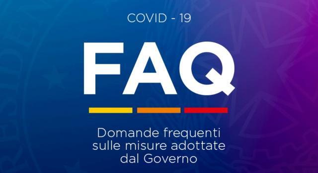 Dpcm gennaio, le Faq aggiornate: il punto sulle nuove regole