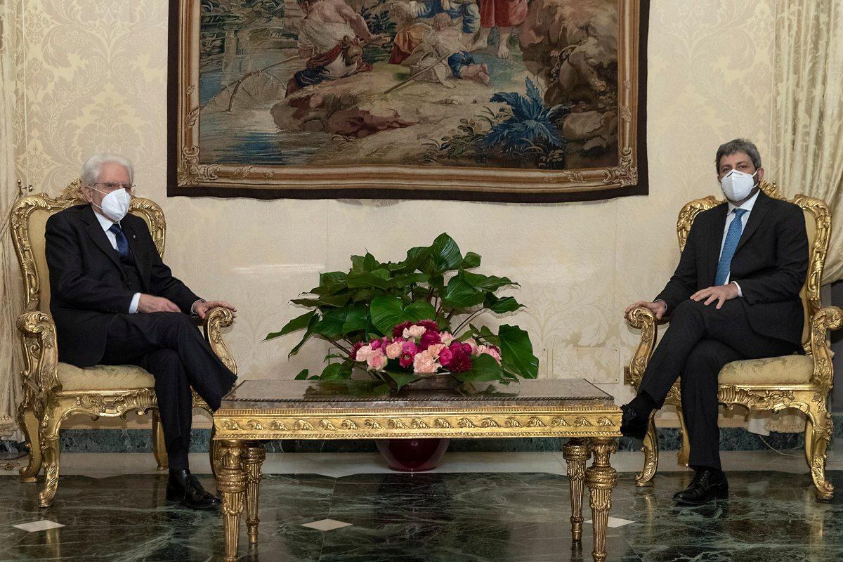 Roberto Fico e Sergio Mattarella