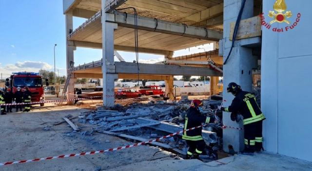 Tragedia sul lavoro nel Brindisino, crolla il solaio di un capannone: un morto