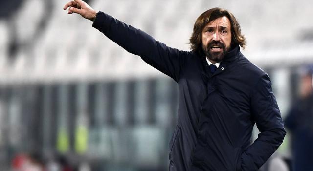 """Juventus-Napoli, Pirlo: """"Non è l'ultima spiaggia per l'obiettivo Champions"""""""