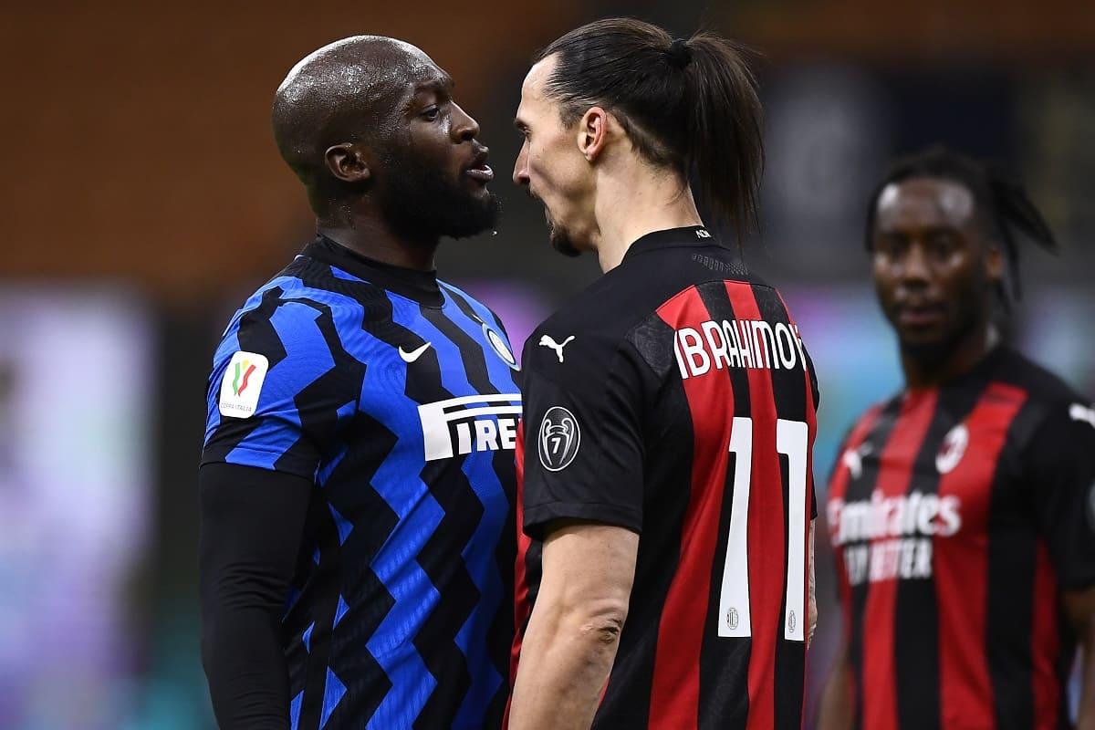 Zlatan Ibrahimovic e Romelu Lukaku