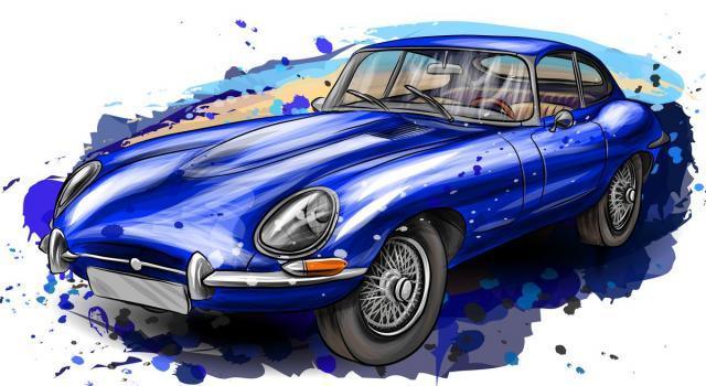 Jaguar E-Type, l'auto di Diabolik tra realtà e leggenda