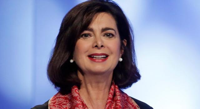 Laura Boldrini, l'ex presidente della Camera