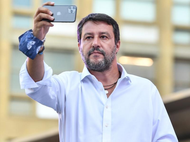 Matteo Salvini si è vaccinato