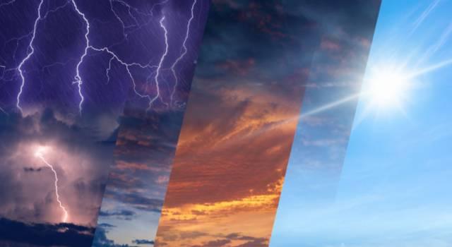 Le previsioni meteo di lunedì 26 aprile