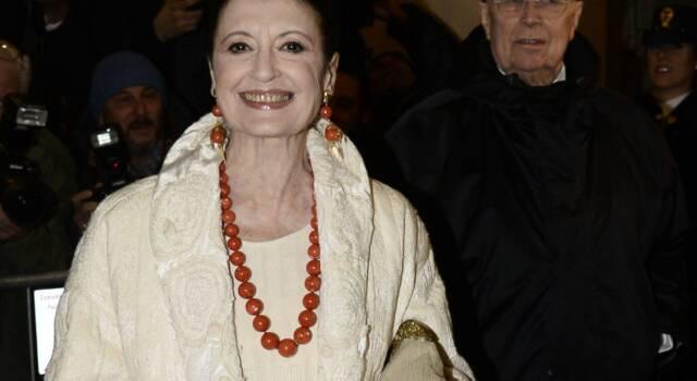 Carla Fracci è in gravi condizioni, il mondo della danza in apprensione