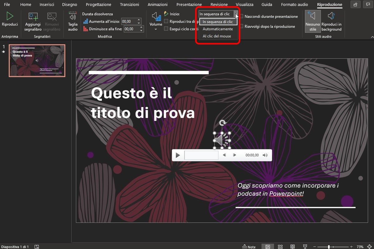 incorporare podcast powerpoint_5