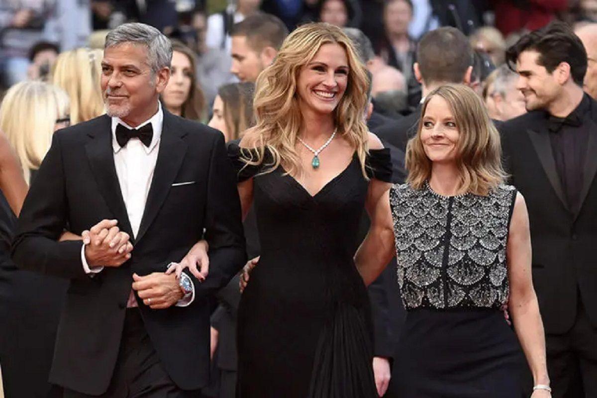 George Clooney, Julia Roberts e Jodie Foster