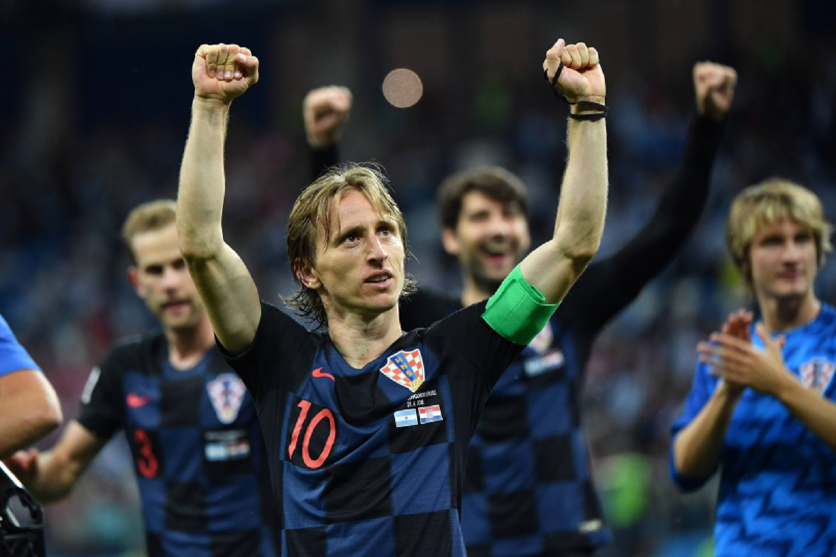 Luka Modric Croazia