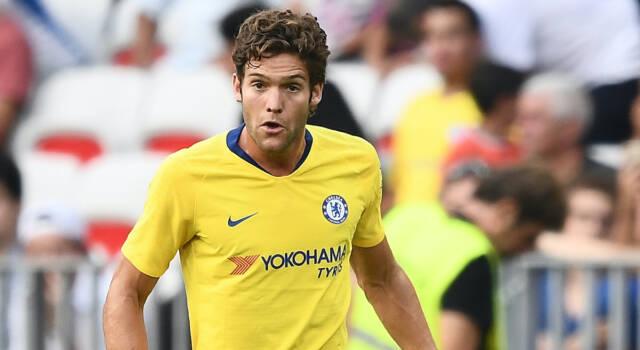 Inter, caccia al terzino sinistro: piace Marcos Alonso del Chelsea
