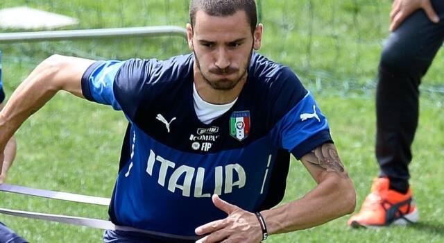 """Bonucci: """"Vincere l'Europeo sarebbe un'iniezione di gioia e fiducia per tutta l'Italia"""". Mancini: """"Per vincere serve divertirsi"""""""