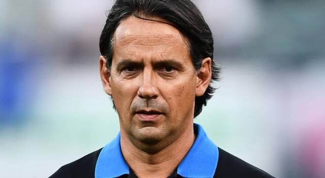 """Simone Inzaghi: """"Bastoni out con la Samp! Potremmo giocare con tre punte"""""""