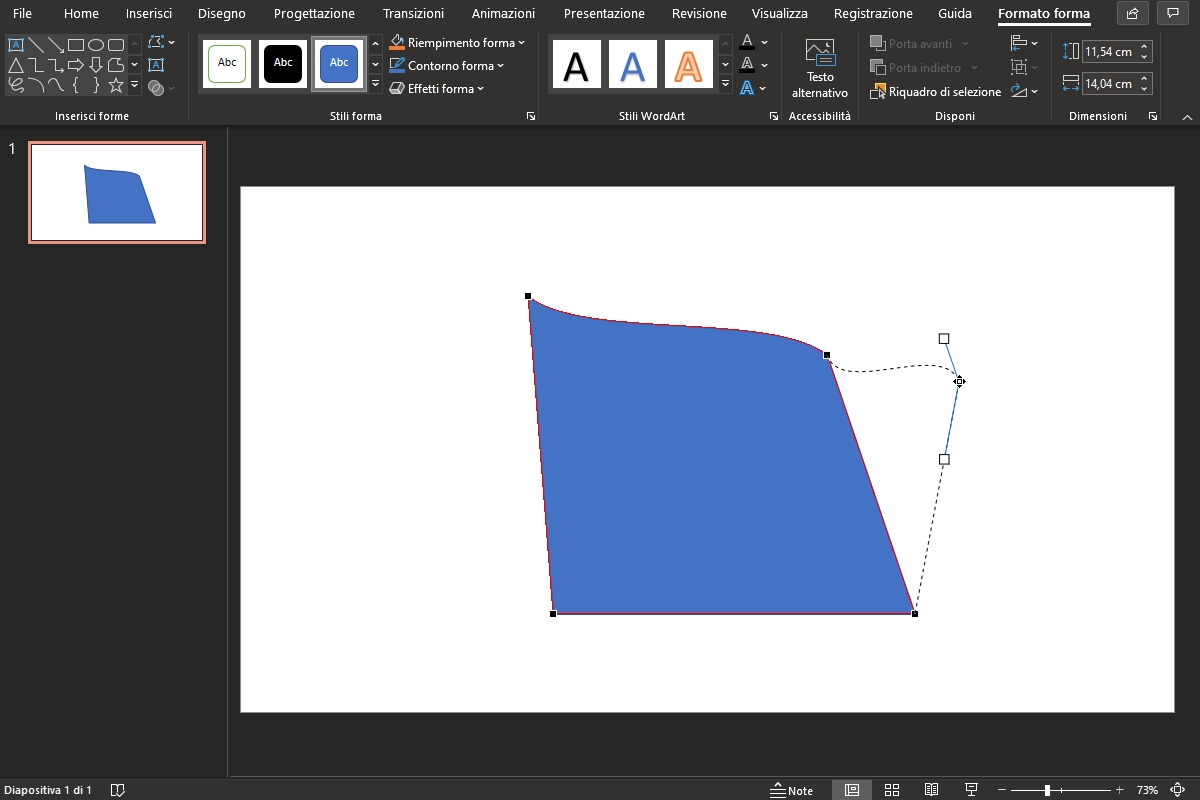 forme di powerpoint