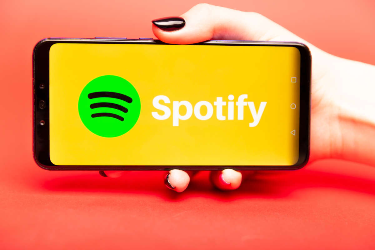 Spotify su smartphone